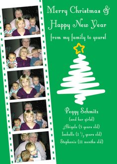Photo Booth Holiday Gift Card