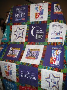 Relay for Life Quilt