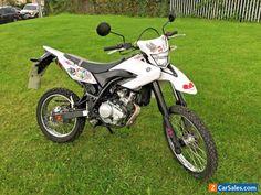 Yamaha WR125R ONLY 1200 Low Miles 2014 WR125 R X Enduro Supermoto Black White #yamaha #enduro #forsale #unitedkingdom