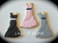 """bridesmaid dress cookies This token of friendship from my heart to you,  is to thank you for being there when I say """"I do""""."""