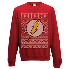 Product code:  FL-99FSS Preorder. Product will be shipped 30th October 2015. Christmas is the busiest time of the year and not just for Santa. Ensure you have Christmas all wrapped up in the nick of time with The Flash Unisex Christmas Jumper. With the plucky superhero's emblem upon your chest, you can bolt through your Christmas …