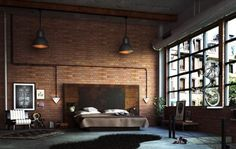 Schlafzimmer inspired by #Industrial!