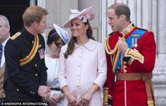 At the eleventh hour: A heavily pregnant Kate Middleton is believed to have moved to her parent's home, escaping the spotlight in the last few days of her pregnancy