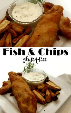 Fish and Chips gluten free. Delish, fresh, and satisfying. - linked up at DIY Crush Craft Party http://www.diy-crush.com