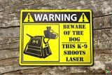 Dr who Doctor who dog Warning Aluminium Composite Sign Signage by Retroteebot Doctor Who K9, Doctor Who Gifts, Beware Of Dog, Warning Signs, Dr Who, Tardis, Signage, Composition, Nerd