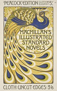 Poster by Albert Angus Turbayne for Macmillan's illustrated Standard Novels (1903).