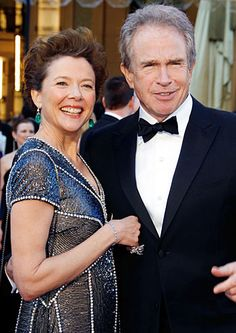 WARREN BEATTY & ANNETTE BENING. The couple married in 1992 and are now considered Hollywood royalty. They have four children.