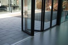 A flat #threshold across the bi-fold door base providing a substantial increase in #watertightness and resistance to wind load.