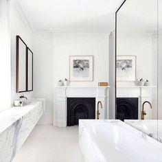 Interiors | Marble Bathroom Design
