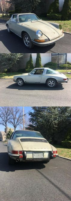 1972 Porsche 911T project car Project Cars For Sale, Motor Car, Porsche 911, Restoration, Classic, Projects, Derby, Log Projects, Blue Prints