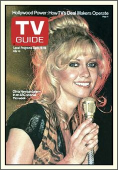 Olivia Newton-John: TV Guide Cover (04/12-18/1980)