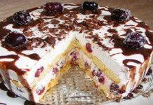 Nepečený piškotový dort s tou nejjednoduší přípravou a fantastickou chutí!