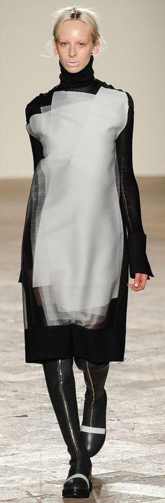 Gabriele Colangelo Fall 2014 Ready-to-Wear Fashion Show Dark Fashion, Love Fashion, Runway Fashion, Fashion Art, Fashion Show, Womens Fashion, Fashion Design, Milan Fashion, Organza Dress