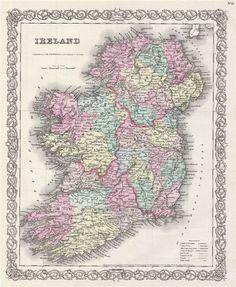 VINTAGE MAPS DINGLE BAY IRELAND - Google Search