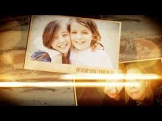 Memories of Friends after effects template