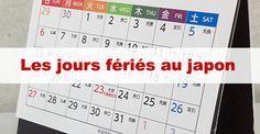 Jours fériés au japon / #japon #japonais