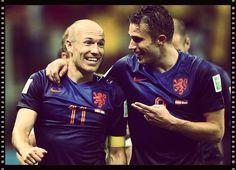 Robben y Van Persie