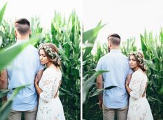 Sarah and Nate Stracke | Midwest DIY Boho Wedding