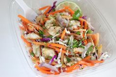 Pin for Later: 200+ Healthy Recipes For Every Meal of the Day Citrus Chicken Salad