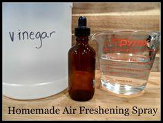 Homemade Air Freshening Spray