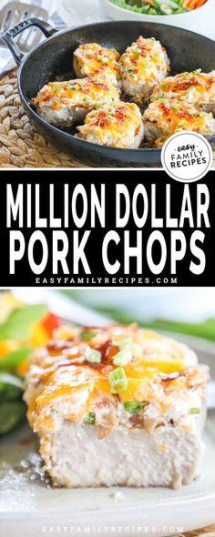 Million Dollar Baked Pork Chops · Easy Family Recipes