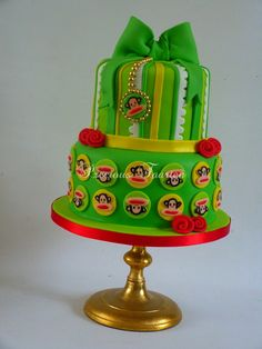 Yum! This Paul Frank cake is a real gift!