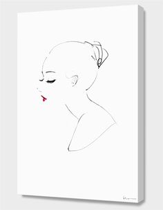 """""""Emma"""", Numbered Edition Canvas Print by Floyd Grey - From $89.00 - Curioos"""