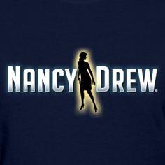 New Nancy Drew Logo Tee (Women's)