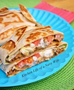 'Homemade Crunchwrap Supreme' Source: Adapted from Culinary Couture Ingredients 6 large flour tortillas 1 bag tortilla c...