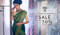 #MahashivratriSale is on at #Shatika! Get upto 50% off on all traditional