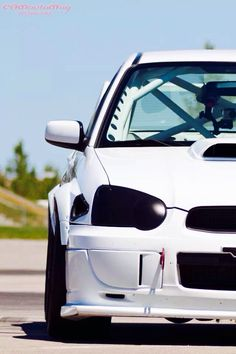 Subaru Impreza STI husband really needs a roll cage soon my love lol