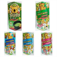 Lotte Koala's March Chocolate Snack Food Various Flavor Family Pack Kids Gift #Lotte