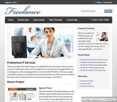 Freelance 1.0.1 - StudioPress Free WordPress Theme Download