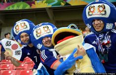 japanese football fans