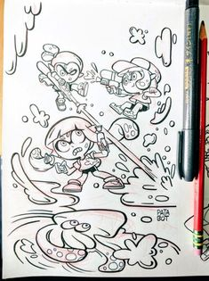 Dirty Snipers…! Inktober Day 5