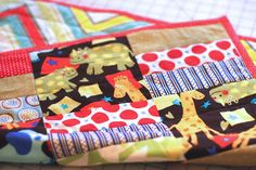 Climbing the Willow: quilted blanket tutorial