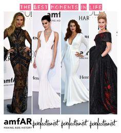 """""""Cannes Film Festival 2016 Day 9: amfAR Gala Best Dressed"""" by fashionwidget on Polyvore"""