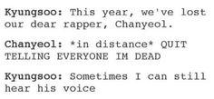 OMFG #Chanyeol #Kyungsoo #EXO