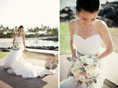 Exquisite Florals for your Destination Wedding in Hawaii. Soft neutrals with a touch of pink will compliment any bride! Check out www.blissinbloom.com for more details about coordination for your destination wedding in Hawaii. www.blissinbloom.com Photographer: — #HawaiiWeddings #WeddingFlorals #WeddingBouquets #BrideBouquets #DestinationWedding #WeddingIdeas #BlissInBloom #Florals #Bride #Weddings #Bouquets #BeachWedding #NeutralWedding