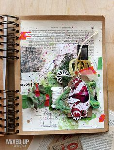 Riikka Kovasin - Paperiliitin: With all senses - Artful Academy Wellspring 2020 Online Classroom, Altered Art, This Or That Questions
