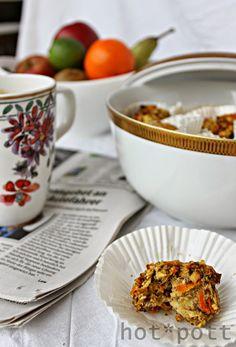 hot*pott: Ich back´s mir! Apfel- Möhren- Frühstücks Muffins #ichbacksmir #frühstück #breakfast