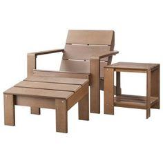 Threshold Bryant Faux Wood Patio Adirondack Chair Gray
