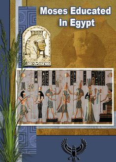 #Free Bible Lessons & Lapbooks: Exodus/Passover: Moses Educated in Egypt Lesson