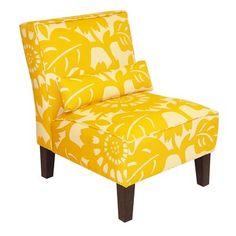 Skyline Furniture 5705 Armless Accent Chair