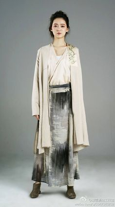 Traditional Chinese costume in Han dynasty combined with current fashion!!!