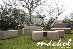 Salas lounge para ambientes modernos #Mackol #VisteTuEvento