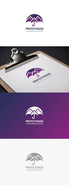 16 ideas house logo design identity branding for 2019 Food Logo Design, Best Logo Design, Bakery Design, Menu Design, Graphic Design, Corporate Shirts, Protection Logo, App Logo, Studio Logo