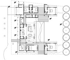 The Dune House,Floor Plan