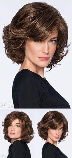 Bob Hairstyles, Wedding Hairstyles, Short Bob Cuts, Peinados Pin Up, Hair Due, Haircut For Thick Hair, Fine Hair, Shoulder Length, Synthetic Hair