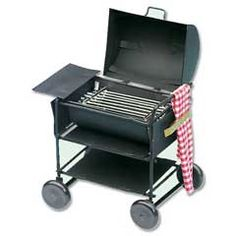 Miniature Barbecue Grill with Towel